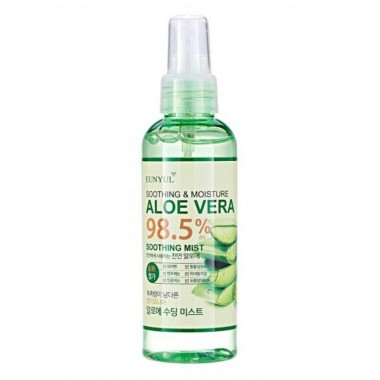 Увлажняющий мист для лица с алоэ вера Eunyul Aloe Vera 98,5% Soothing Mist 150 мл (8809435402265)