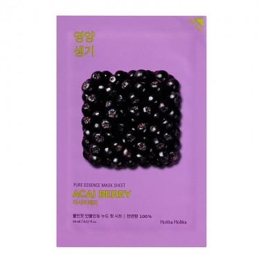 "Тканевая маска для лица ""Ягоды асаи"" Holika Holika Pure Essence Mask Sheet Acai Berry 20 мл (8806334368142)"