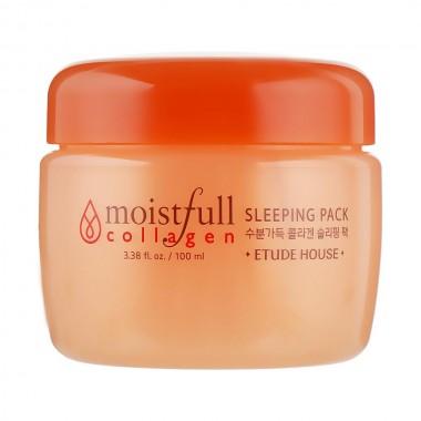 Увлажняющая ночная маска для лица с коллагеном Etude House Moistfull Collagen Sleeping Pack 100 мл (8806179469264)