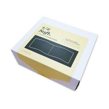 Хлопковые диски Missha 1/2 Soft Cotton Pads 60 шт (8809643509008)