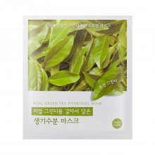 Гидрогелевая маска с экстрактом зеленого чая Holika Holika Green Tea Hydro Gel Mask Found From Nature 32 г (8806334362911)