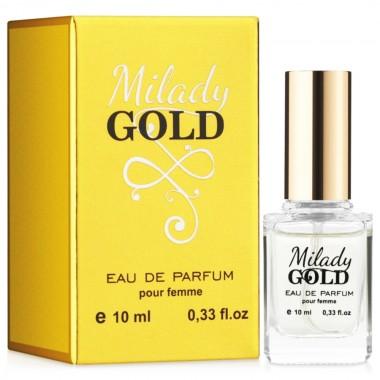 Парфюмерная вода для женщин EVA cosmetics Ароматы мира Milady Gold 10 мл (01330100201)