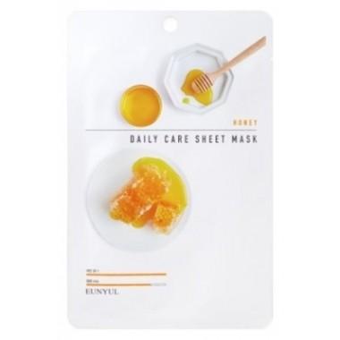 Омолаживающая маска для лица с медовым экстрактом Eunyul Daily Care Mask Sheet Honey 22 г (8809435405419)