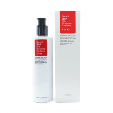 Эмульсия для лица с BHA-кислотами COSRX Natural BHA Skin Returning 100 мл