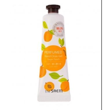 Парфюмированный антисептик для рук The Saem Perfumed Hand Clean Gel Sugar Peach 30 мл (8806164128572)
