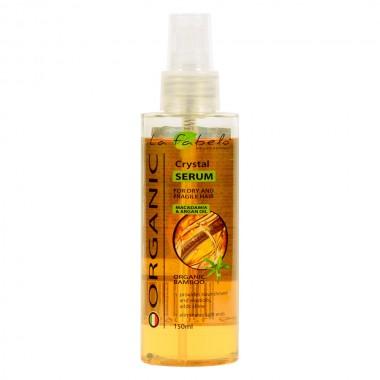 Питательная сыворотка для волос с маслом арганы и макадамии La Fabelo Organic Crystal Serum 150 мл (01490105101)