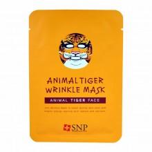 Антивозростная маска для лица Тигр SNP Animal Tiger Wrinkle Mask 25 мл (8809237828652)