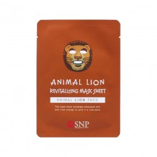 Восстанавливающая маска для лица Лев SNP Animal Lion ReVitalizing Mask Sheet 25 мл (8809458841140)