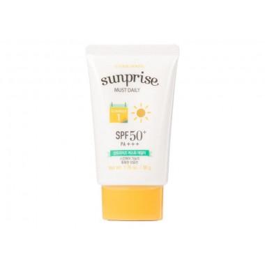 Солнцезащитный крем Etude House Sun Prise Must Daily Spf50+/Pa+++ 50 г (8806165979562)