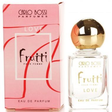 Парфюмерная вода для женщин Carlo Bossi Fruiti Love мини 10 мл (01020104401)