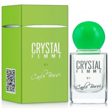 Парфюмерная вода для женщин Carlo Bossi Crystal Femme Green мини 10 мл (01020178401)
