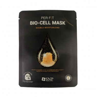Увлажняющая биоцеллюлозная маска для лица SNP Double Moisturizing Bio-cell Mask 25 мл (8809458846978)