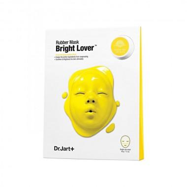 Моделирующая альгинатная маска для сияния кожи Dr. Jart+ Dermask Rubber Mask Bright Lover 43 г + 5 мл (8809380649425)
