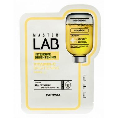 Тканевая маска для лица с витамином С Tony Moly Master Lab Vitamin C Brightening 19 мл (8806358558666)