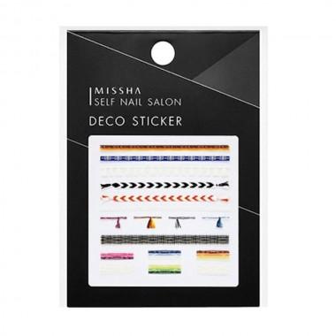 Декоративные стикеры для маникюра Missha Self Nail Salon Deco Sticker No.4/Lucky Ring 1 шт (8809530039502)