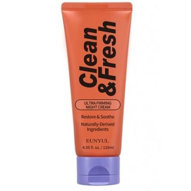Ночной крем для лица для повышения упругости кожи Eunyul Clean & Fresh Ultra Firming Night Cream 120 мл (8809435404245)
