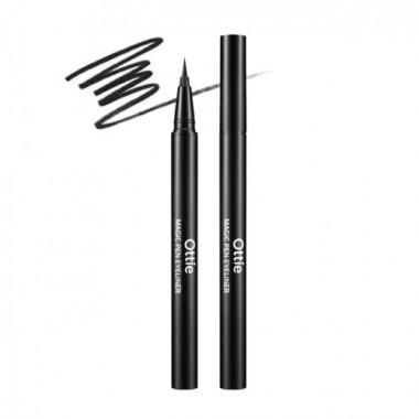 Лайнер для идеальных стрелок Ottie Magic Pen Eyeliner Black 0.5 г (8809276013316)
