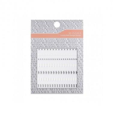 Наклейки для ногтей Missha Lovely Nail Design Sticker Classic Chain 1 шт (8806185772501)