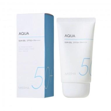 Солнцезащитный гель Missha All Around Safe Block Aqua Sun Gel SPF50+/PA++++ 50 мл (8809581452411)