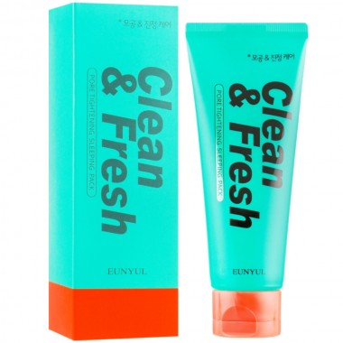 Глиняная маска для чистки пор Eunyul Clean & Fresh Pore Refining Clay Mask 100 г (8809435406201)