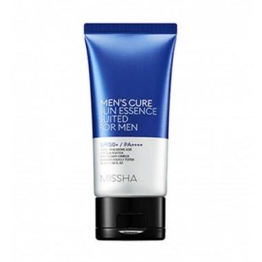 Мужская солнцезащитная эссенция для лица Missha Men's Cure Sun Essence Suited For Men SPF50+ PA++++ 50 мл (8809581460232)
