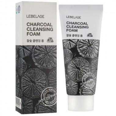 Пенка для умывания с углем Lebelage Cleansing Foam Charcoal 100 мл (8809540513252)