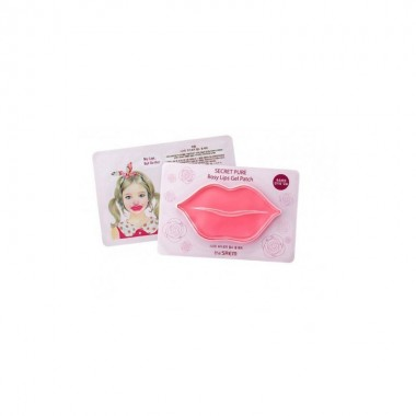 Гидрогелевые патчи для губ The Saem Secret Pure Rosy Lips Gel Patch 1 шт (8806164146712)