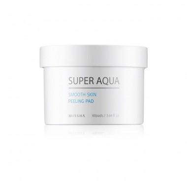 Пилинг-диски для лица Missha Super Aqua Smooth Skin Peeling Pad 60 шт (8806185796330)