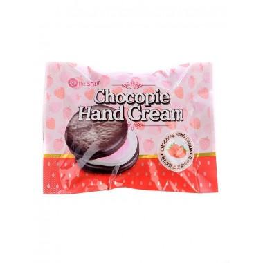 Питательный крем для рук Клубника The Saem Chocopie Hand Cream Strawberry 35 мл (8806164143797)