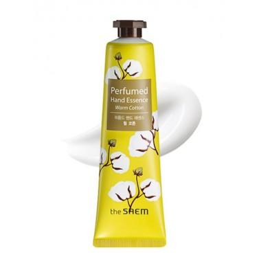 Крем-эссенция для рук парфюмированная Хлопок The Saem Perfumed Hand Essence Warm Cotton 30 мл (8806164122266)