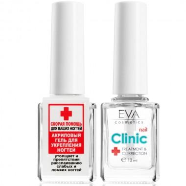 Акриловый гель для укрепления ногтей Eva Cosmetics Nail Clinic 12 мл (01011900203)