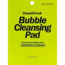 Очищающая подушечка для демакияжа Eunyul Clean & Fresh Bubble Cleansing Pad 7 г (8809435405846)