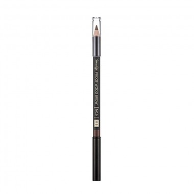 Контурный карандаш для бровей Missha Smudge Proof Wood Brow No.6 Red Brown 0,3 г (8806185772631)