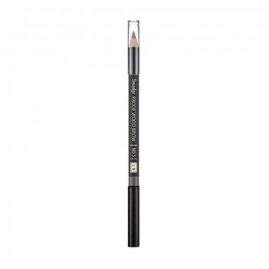 Контурный карандаш для бровей Missha Smudge Proof Wood Brow No.5 Light Brown 0,3 г (8806185772624)