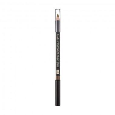 Контурный карандаш для бровей Missha Smudge Proof Wood Brow No.2 Brown 0,3 г (8806185772594)