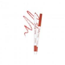 Многофункциональный карандаш для губ 3в1 Missha Silky Lasting Lip Pencil BR02/Salsa Red 0,25 г (8809530059951)