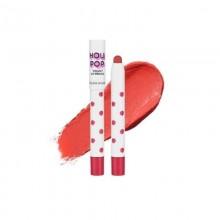 Матовая помада-карандаш для губ Holika Holika Holi Pop Velvet Lip Pencil - CR04/Coral 17 г (8806334374914)
