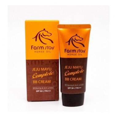 ББ-крем на основе лошадиного жира Farmstay Jeju Horse Oil Complete BB Cream 50 мл (8802221001130)