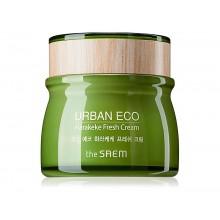 Увлажняющий крем для лица The Saem Urban Eco Harakeke Fresh Cream 60 мл (8806164147832)