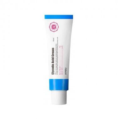 Антивозрастной крем для лица с AHA и BHA кислотами A'pieu Glycolic Acid Cream 50 мл (8809530056738)