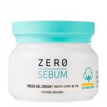 Матирующий крем-гель для жирной кожи лица Etude House Zero Sebum Fresh Gel Cream 10 мл (2020061225159)