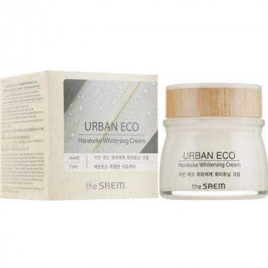 Крем для лица с экстрактом новозеландского льна The Saem Urban Eco Harakeke Whitening Cream 60 мл (8806164149270)