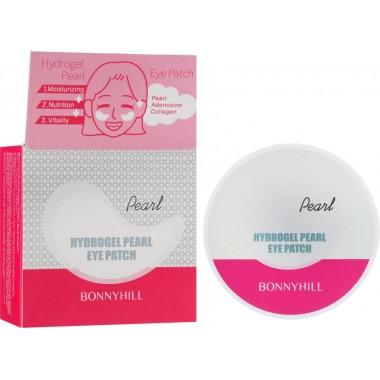 Увлажняющие гидрогелевые патчи с жемчугом Bonnyhill Hydrogel Pearl Eye Patch 60 шт 90 г (8809087932417)