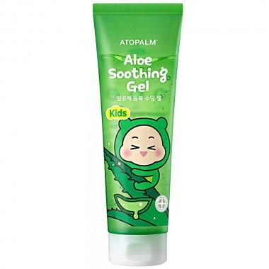 Увлажняющий гель для детей с соком листьев алоэ Atopalm Kids Aloe Soothing Gel 250 мл