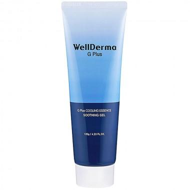 Универсальный гель для лица и тела WellDerma G Plus Cooling Essence Soothing Gel 120 г