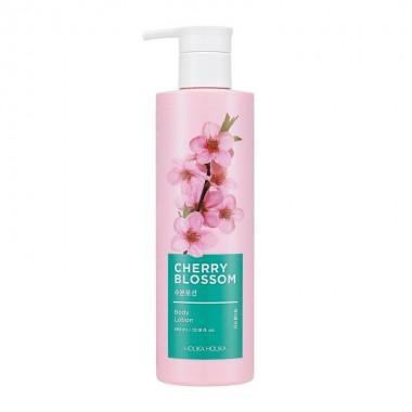 Увлажняющий лосьон для тела с экстрактом цветов сакуры Holika Holika Cherry Blossom Body Lotion 390 мл (8806334371715)