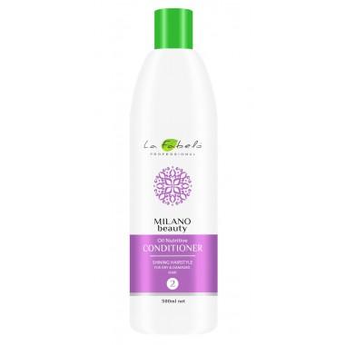 Кондиционер питательный для сухих волос La Fabelo Milano Beauty Oil Nutritive Conditioner 500 мл (01490110001)