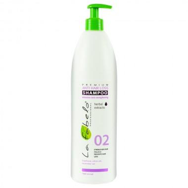 Шампунь против выпадения волос La Fabelo Premium 02 Anti Hair Loss Shampoo 1000 мл (01490101701)
