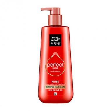 Кондиционер-маска для восстановления волос Mise en Scene Perfect Serum Rinse Super Rich 680 мл (8809516839928)