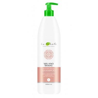 Шампунь восстанавливающий для ломких волос La Fabelo Milano Beauty Skin&Hair Therapy Shampoo 1000 мл (1490108301)